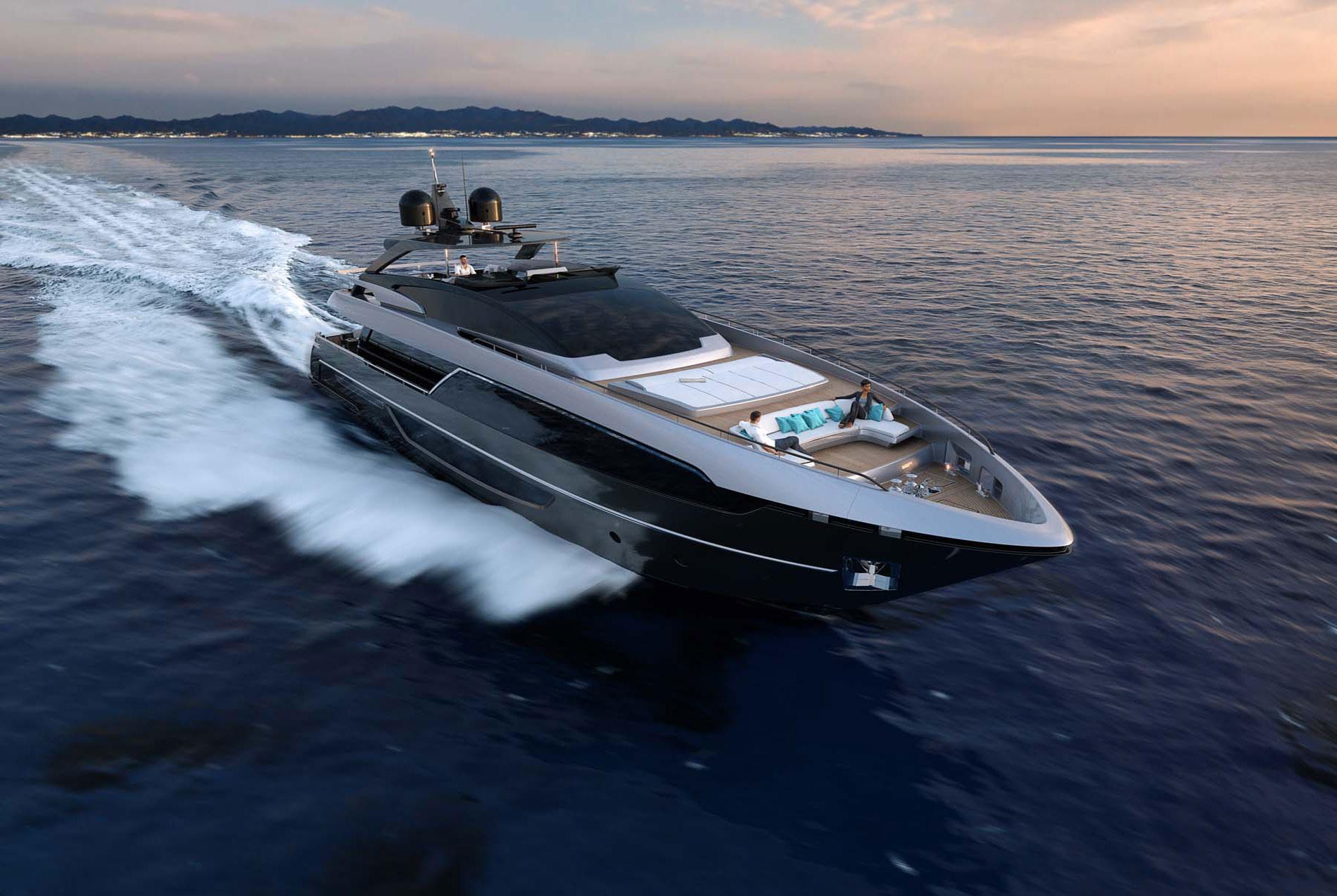 Riva 100 Corsaro New Riva Yacht Sales Inwards Marine
