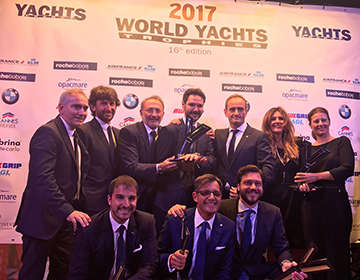 ferretti group world yachts trophies 2017 inwardsmarine