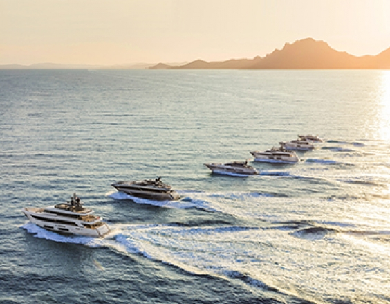 Ferretti Group at the 'Palma International Boat Show' with the fleet of wonders