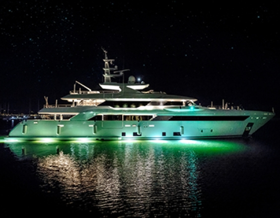 CRN 50m Latona in the spotlight at the September Monaco Yacht Show 2018