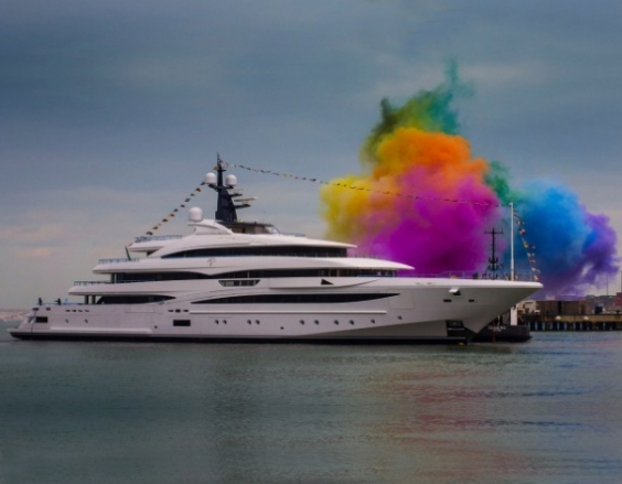 CRN launch new 74m Superyacht