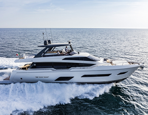 Ferretti Yachts 780 - Protagonist in Cannes