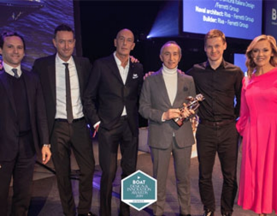 Ferretti Group triumph at the Design & Innovation Awards