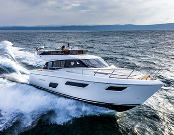 Two awards for Ferretti Yachts 450