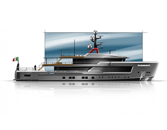 Alfarosso, the new Explorer Yacht by CRN and Francesco Paszkowski Design