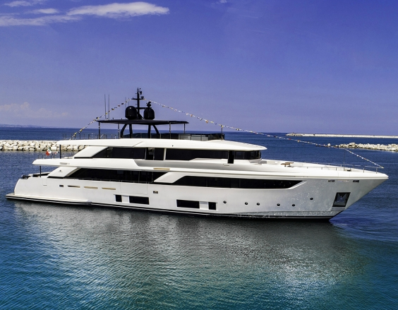 First Custom Line Navetta 42 Launched