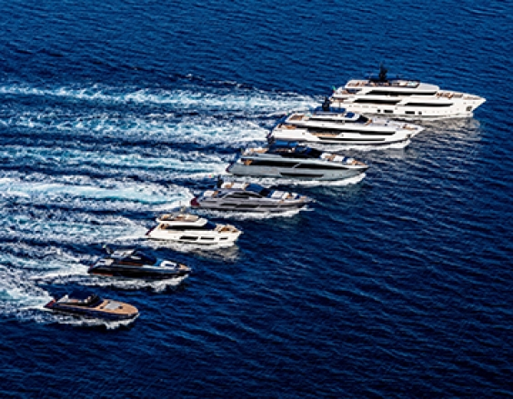 Ferretti Group lights up the Cannes Yachting Festival 2018 with 5 new stars!