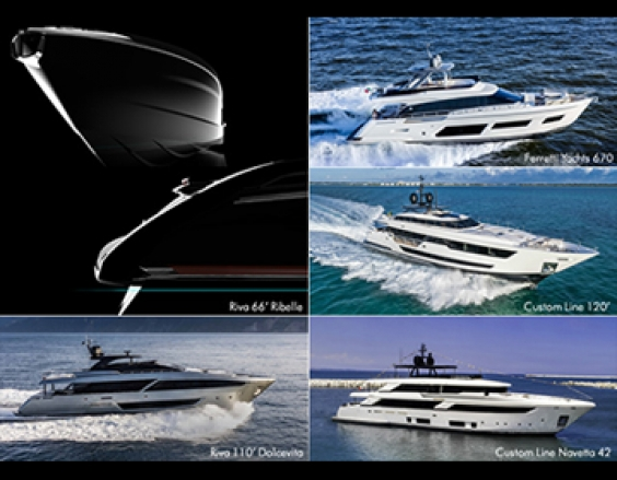 Ferretti Group prepares to shine with 5 new stars at the Cannes Yachting Festival