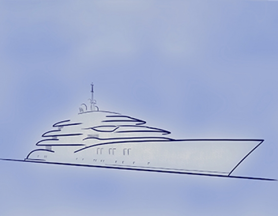 Press Release - The NEW CRN Megayacht architected by Vallicelli Design - 70m of flowing elegance