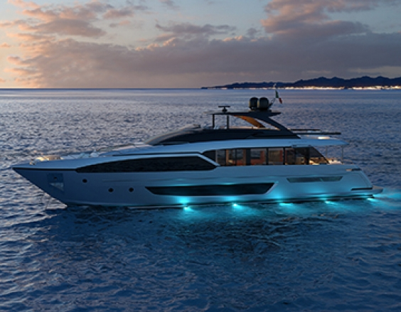 Riva 90': the exterior design is unveiled